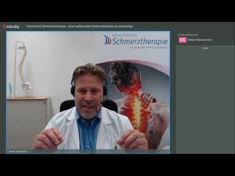Chronische Rückenschmerzen eine multimodale Schmerztherapie ist notwendig!