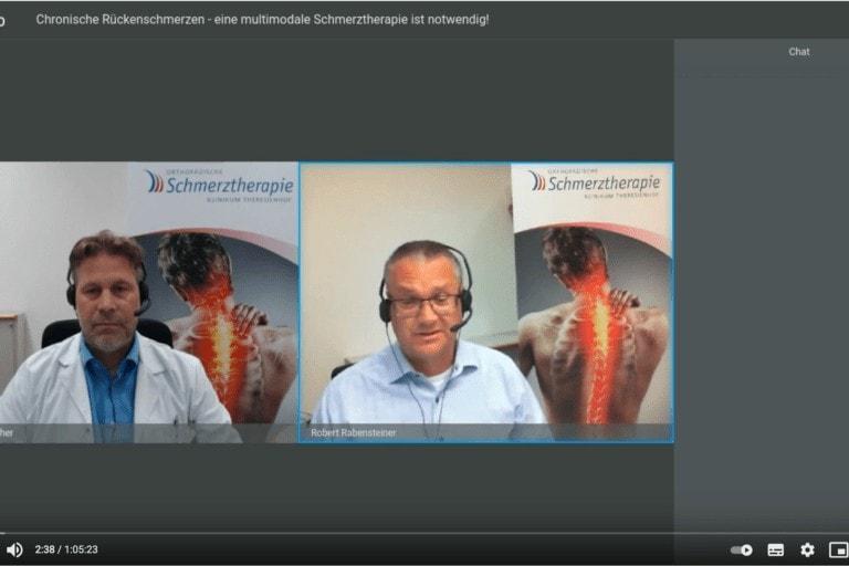 Webinar zu Chronische Rückenschmerzen